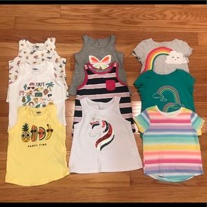 Toddler Summer Bundle (9 shirts & 2 shorts)